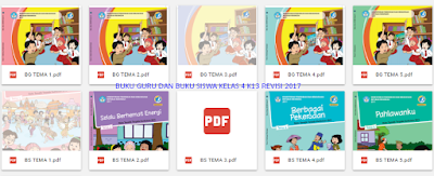 Folder Dive Google Buku Kelas 4 Revisi 2017