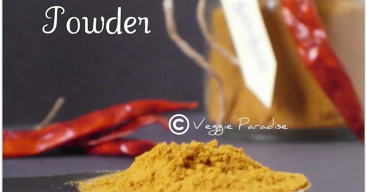 how to make sambar powder at home