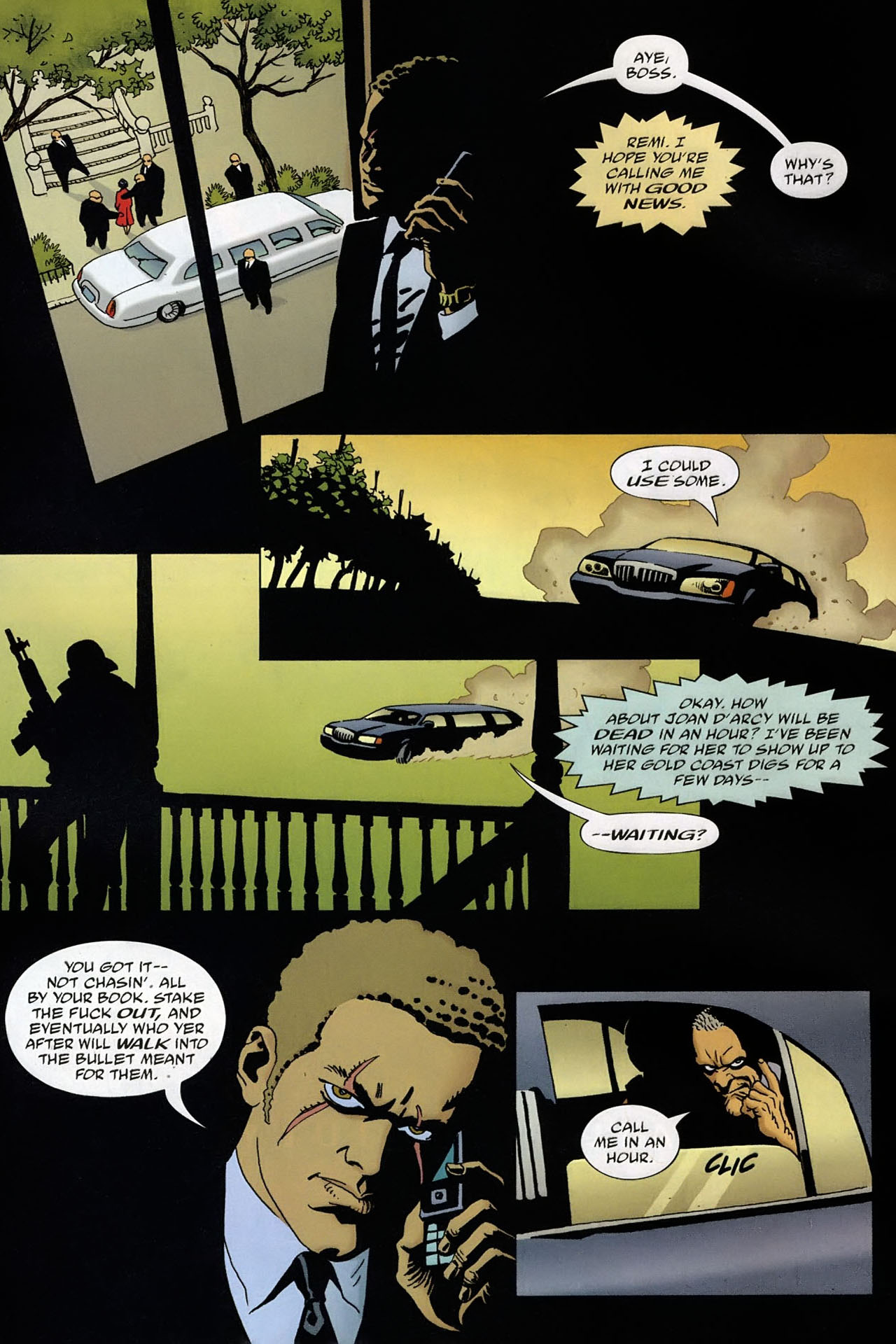 Read online 100 Bullets comic -  Issue #93 - 6