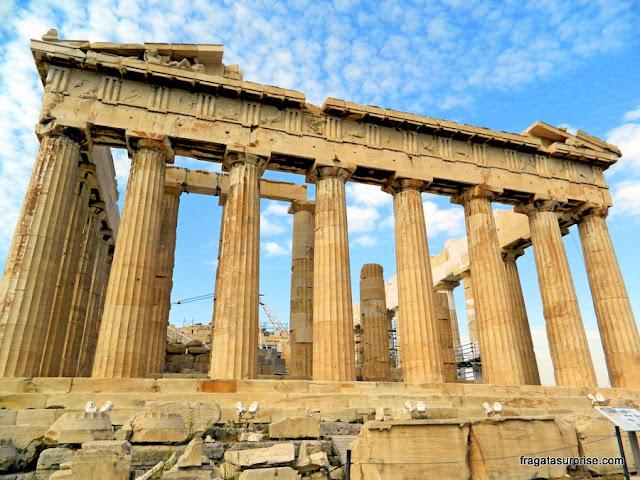 Partenon, templo da Acrópole de Atenas