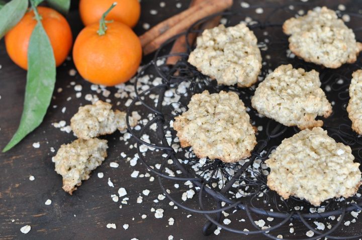 Clemetine-Oat-Cookies, glutenfree and easy-peasy to bake