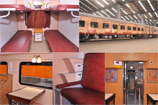 Features of Buddhist Circuit Tourist Train