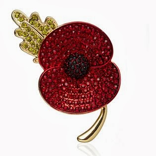 frumpy to funky: QVC – The Buckley Poppy for Remembrance Day