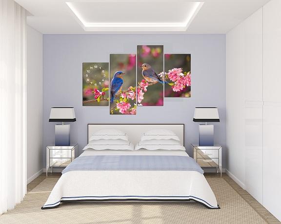 Hướng dẫn chọn màu sơn phòng ngủ theo phong thủy