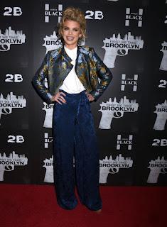Annalynne Mccord At First We Take Brooklyn Premiere In New York
