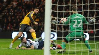 Preston 1 2 Arsenal: Gunners Progress To FA Cup Fourth Round