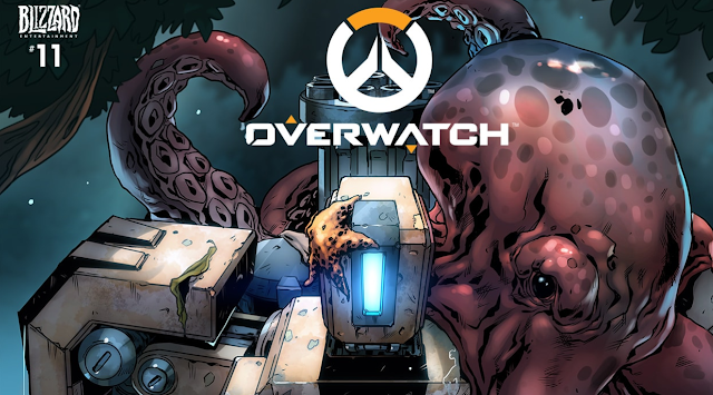 No te pierdas el nuevo cómic de Overwatch, Binario