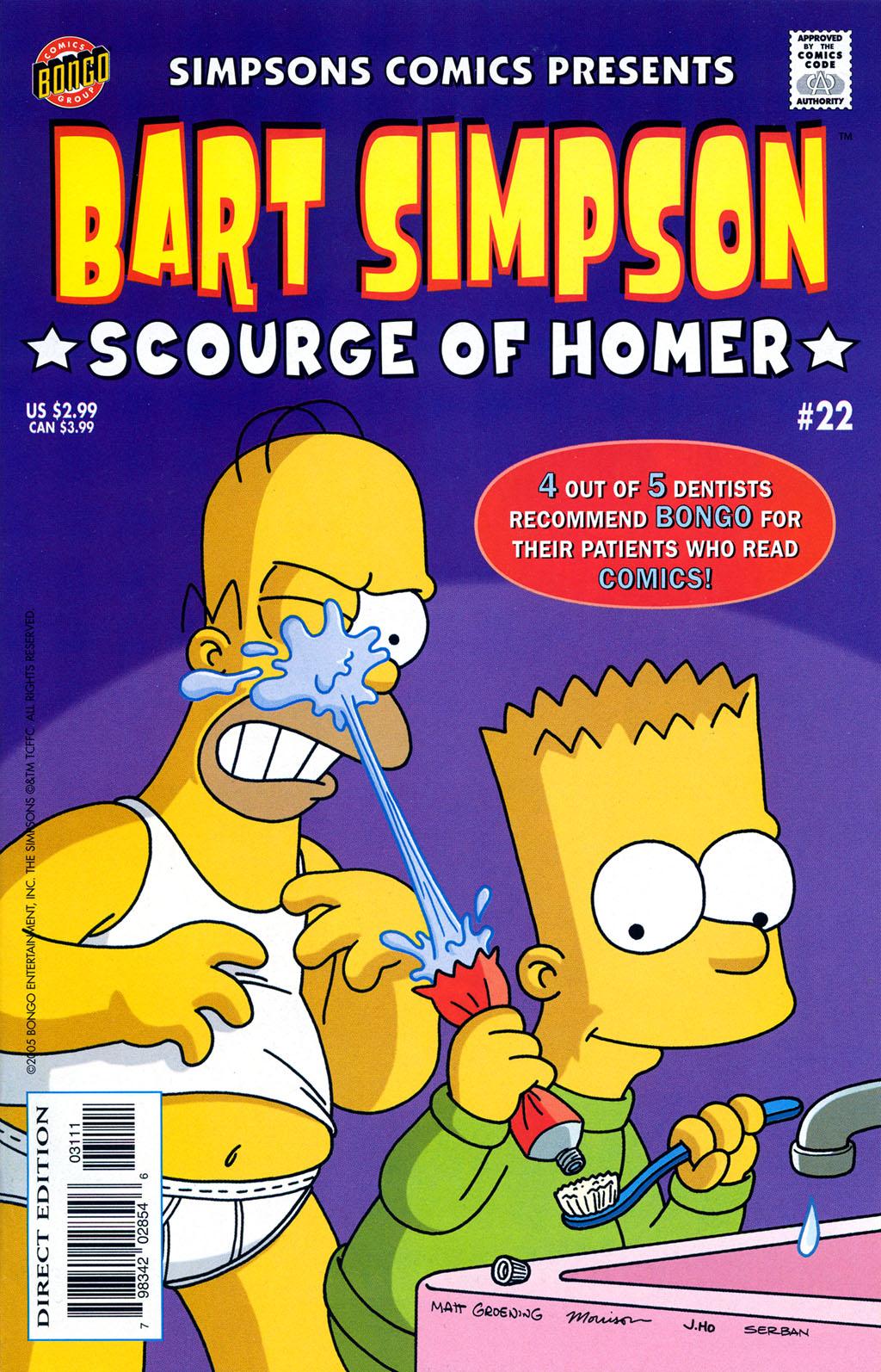 Read online Simpsons Comics Presents Bart Simpson comic -  Issue #22 - 1