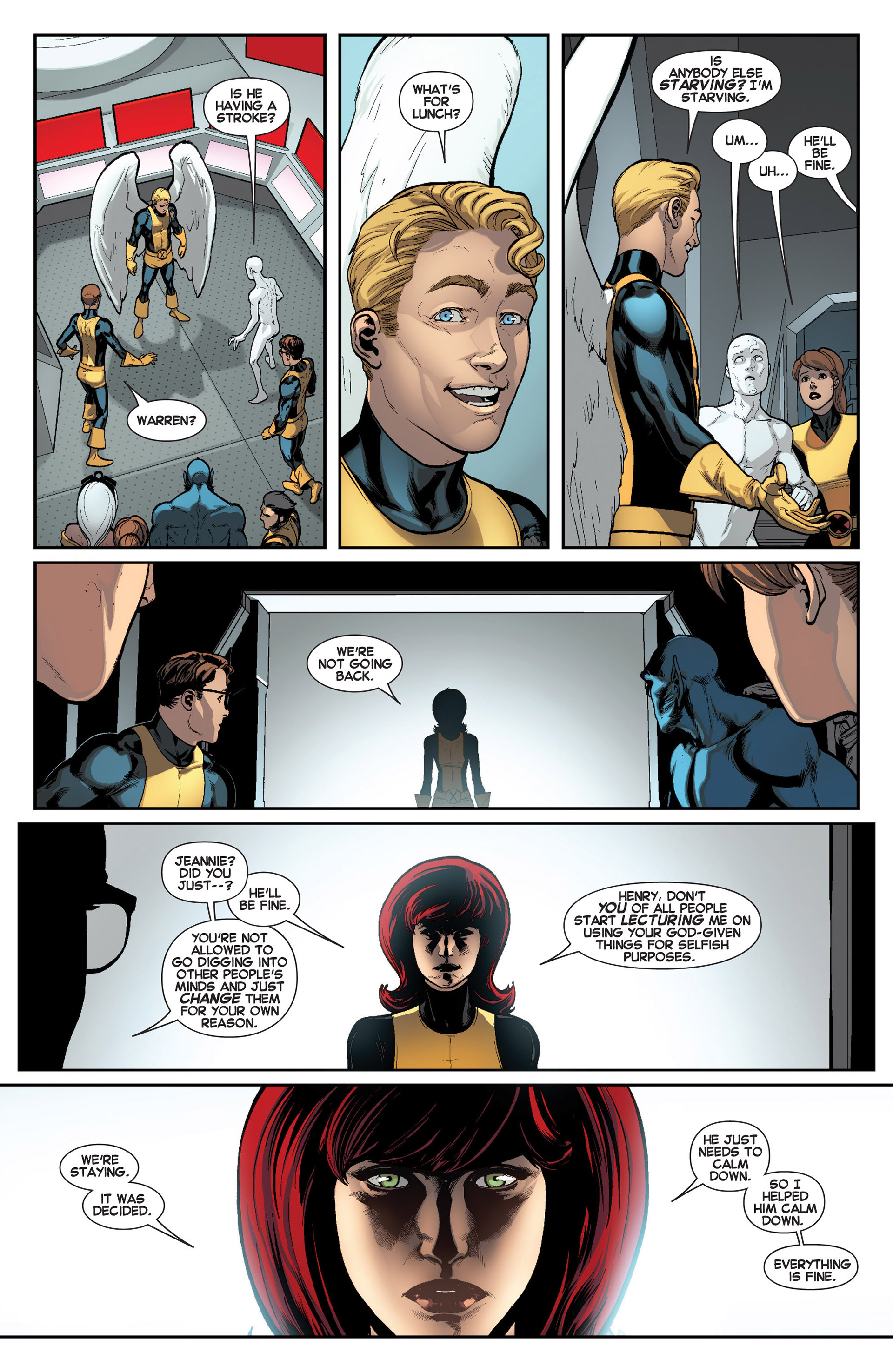 Read online All-New X-Men (2013) comic -  Issue #8 - 20