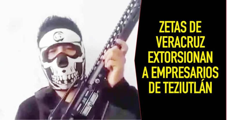 "Vídeo: ""Zetas"" advierten con ""levantar"" a empresarios que no paguen ""derecho de piso"""