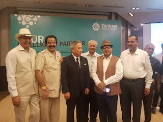 दिल्ली में एम् . ए . ऍफ़ का प्रतिनिधि मंडल ताइवान के उद्योगपतियों से मिला