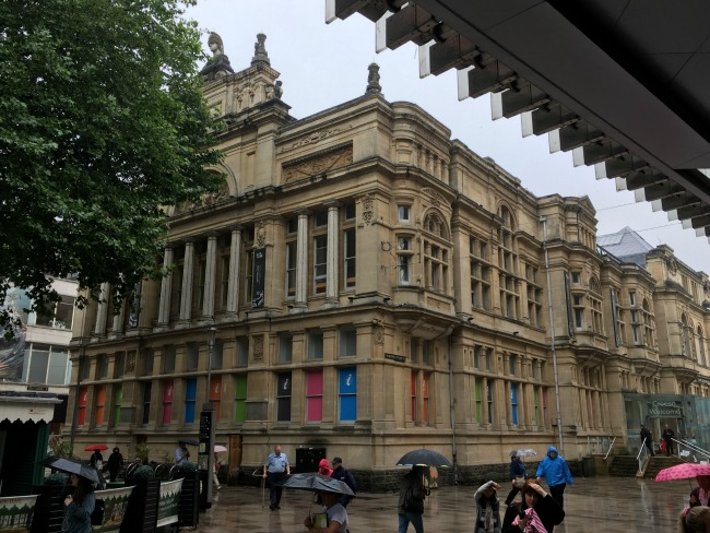 #My-Sunday-photo-number-31-Cardiff-old-library-in-the-rain