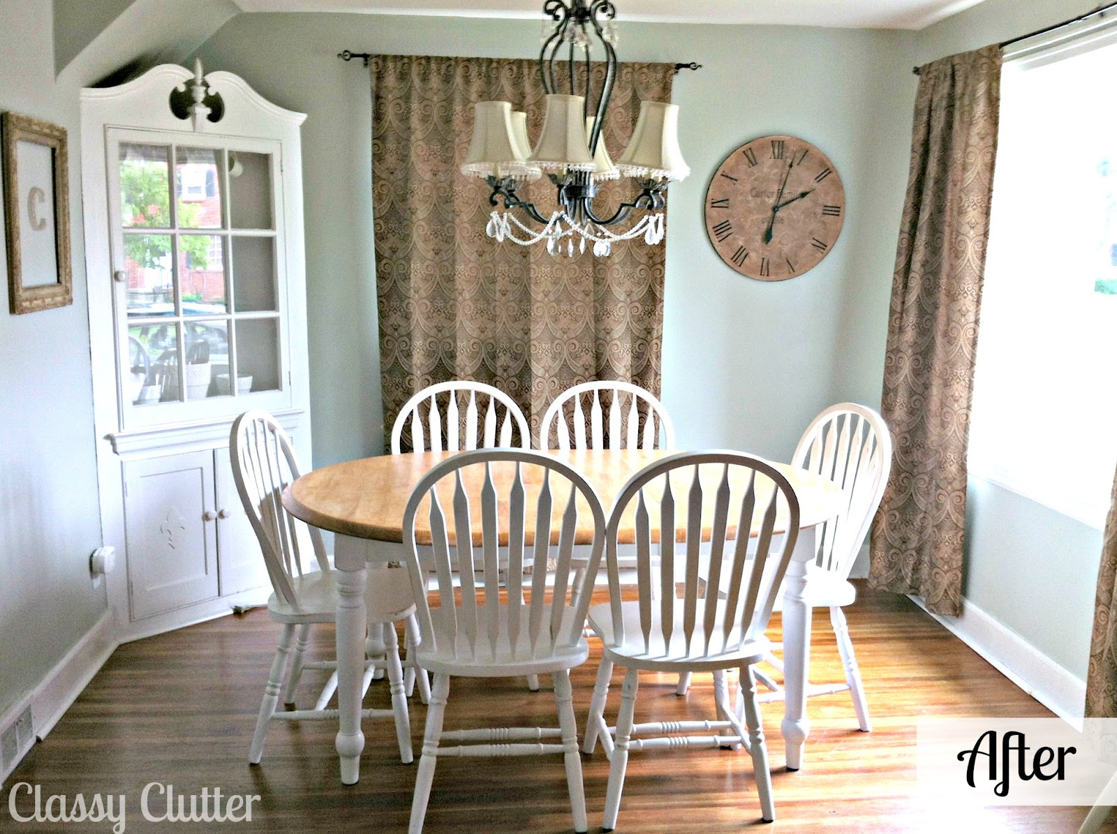 Dining Room Makeover Adorable Dining Room And Dining Set Makeover Classy Clutter