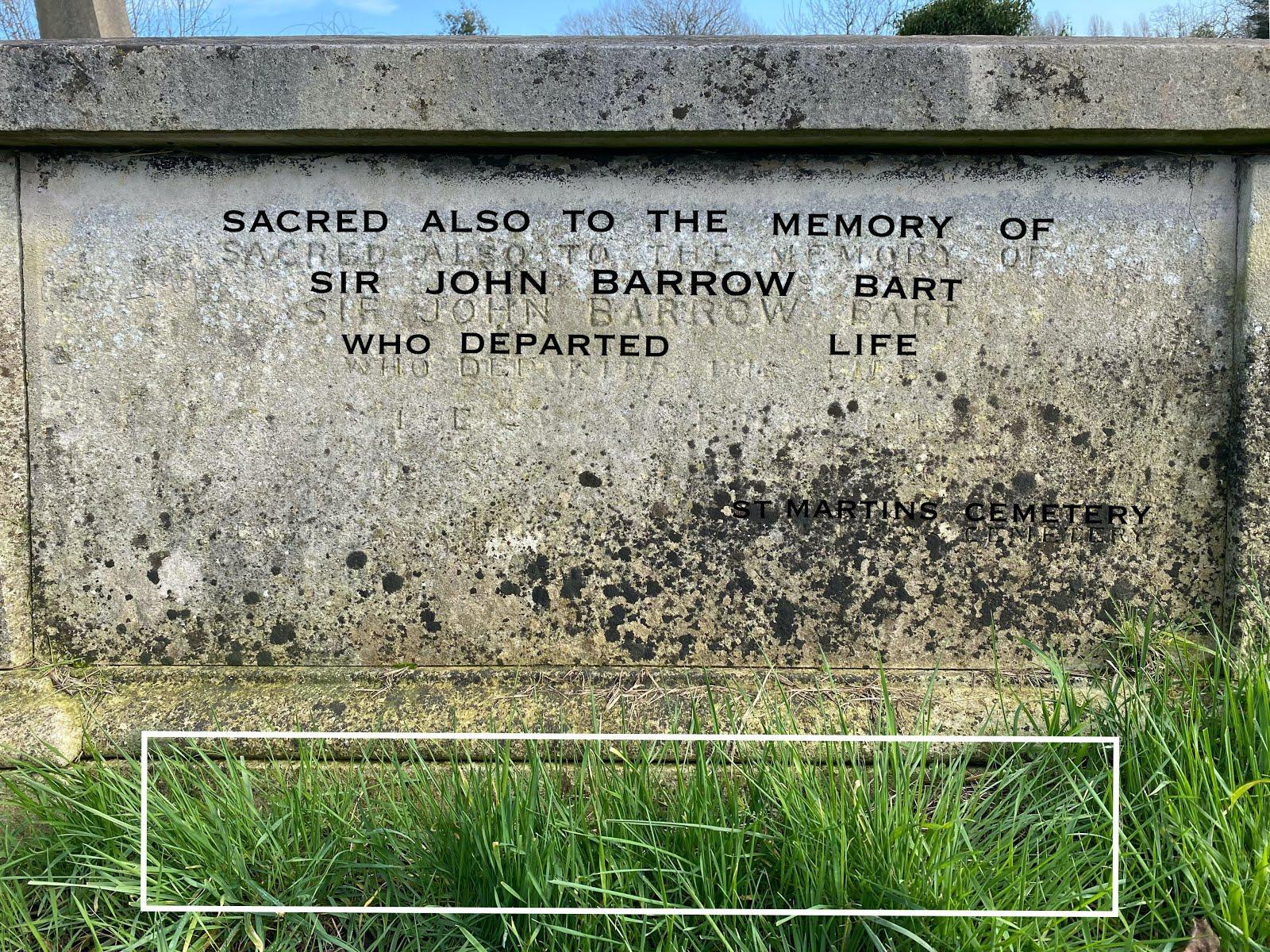 Barrow inscription.