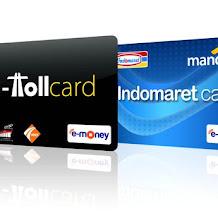 Cara Beli e - Money  dan Jenis kartu e - Money yang bisa digunakan membayar E - Toll
