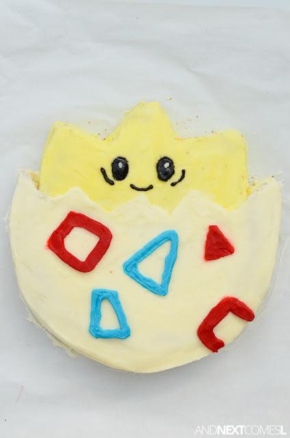 Togepi Pokemon birthday cake ideas
