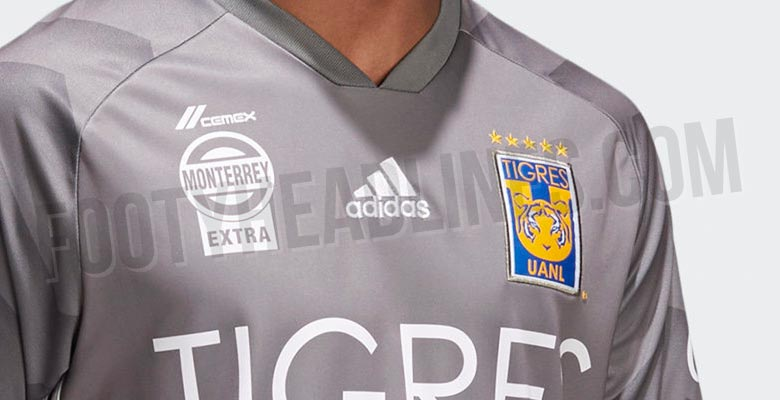 The Adidas Tigres UANL 2018 third uniform introduces an understated look in  grey and white b75f1ef3a