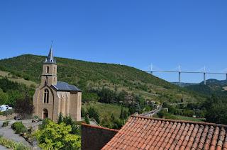 Peyre i el viaducte de Millau