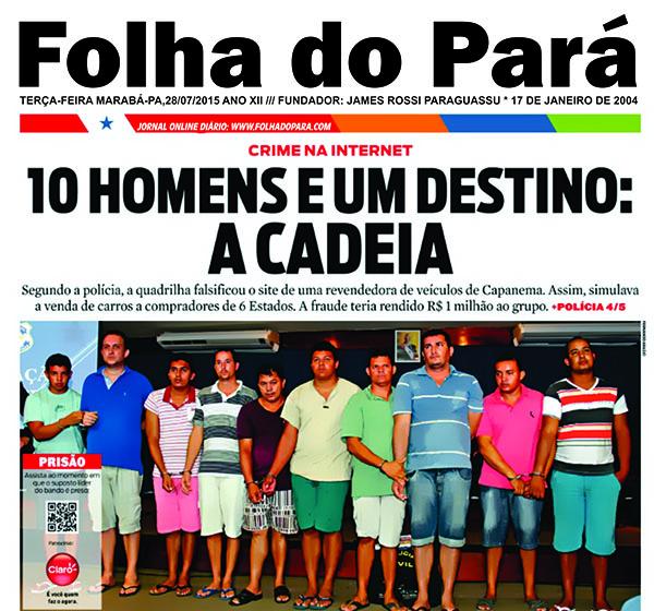 CRACKERS QUE APLICARAM GOLPE NO PARÁ SÃO PRESOS NO NORDESTE -- VEJA..