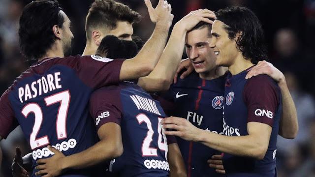 Video Cuplikan Gol PSG 7-1 Monaco (Ligue 1)