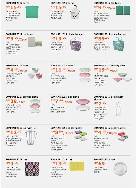 IKEA Malaysia Product Catalogue Discount Promo
