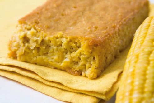 Cómo hacer PAN DE ELOTE sin harina en licuadora