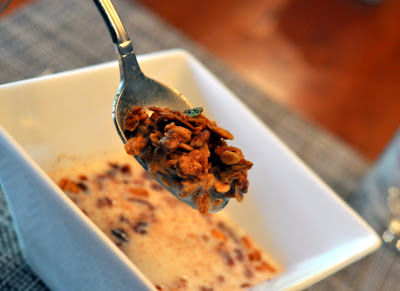 Homemade Granola at The Inn on First in Napa, CA - Photo by Taste As You Go