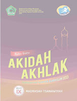 Buku Guru K13 Akidah Akhlak Kelas 9 MTs
