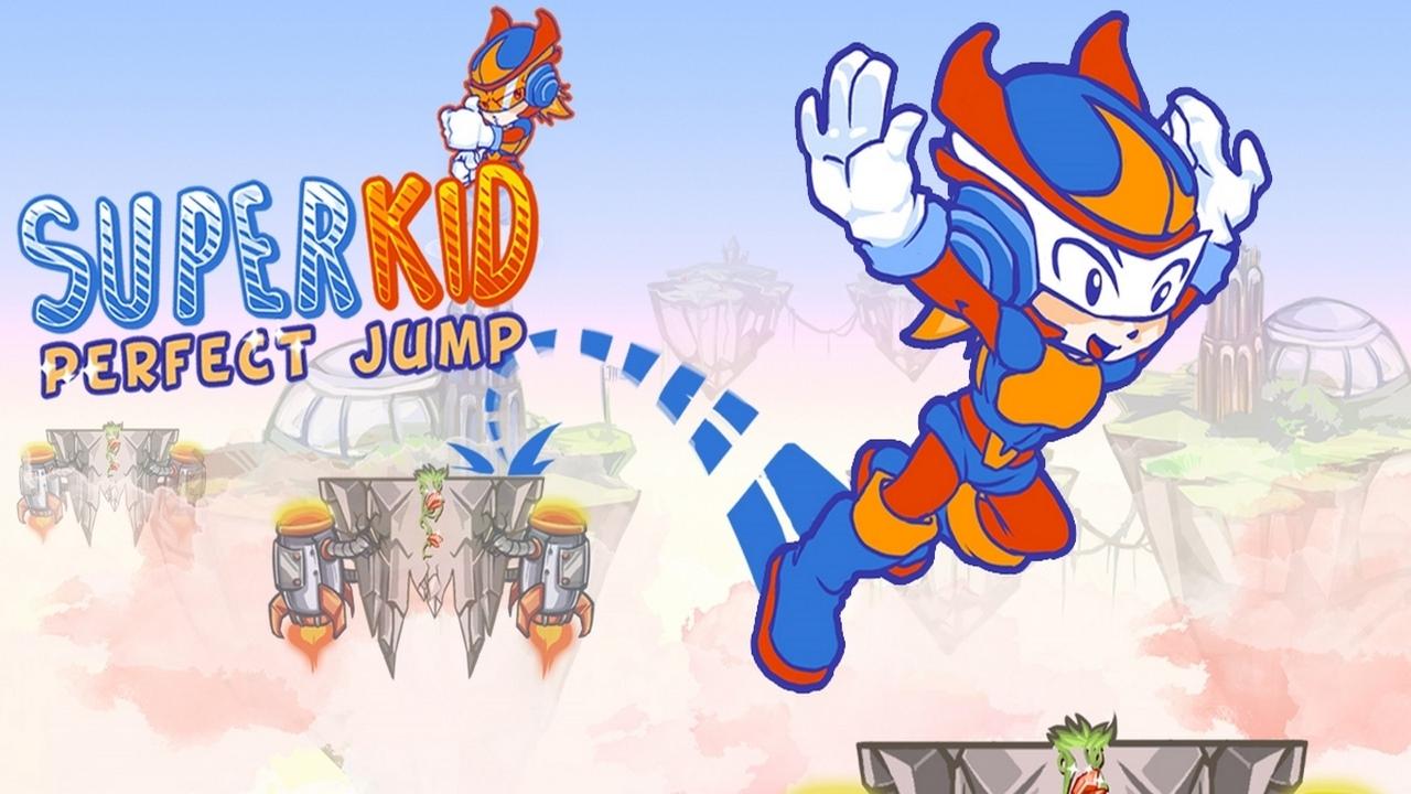 Süper Çocuk Mükemmel Atlama - Super Kid Perfect Jump