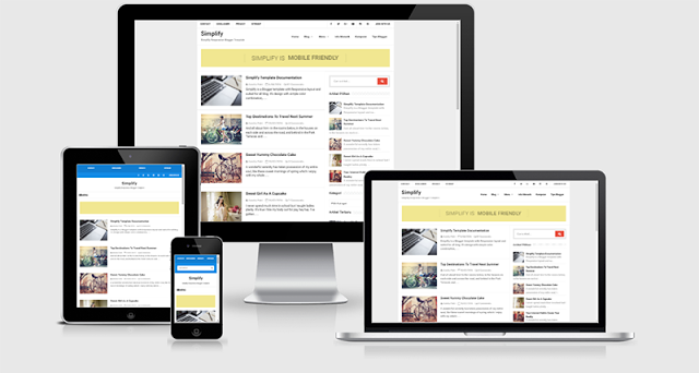 Simplify Responsive Blogger Template download