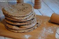 Πίτες για σουβλάκια με αλεύρι Ζέας - by https://syntages-faghtwn.blogspot.gr