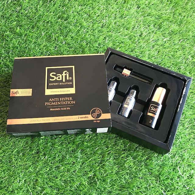 SAFI Expert Solution Intensive Ampoules Anti Hyper Pigmentation
