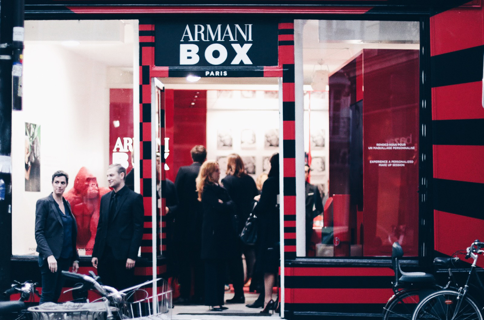 armani box boutique maquillage beauté paris