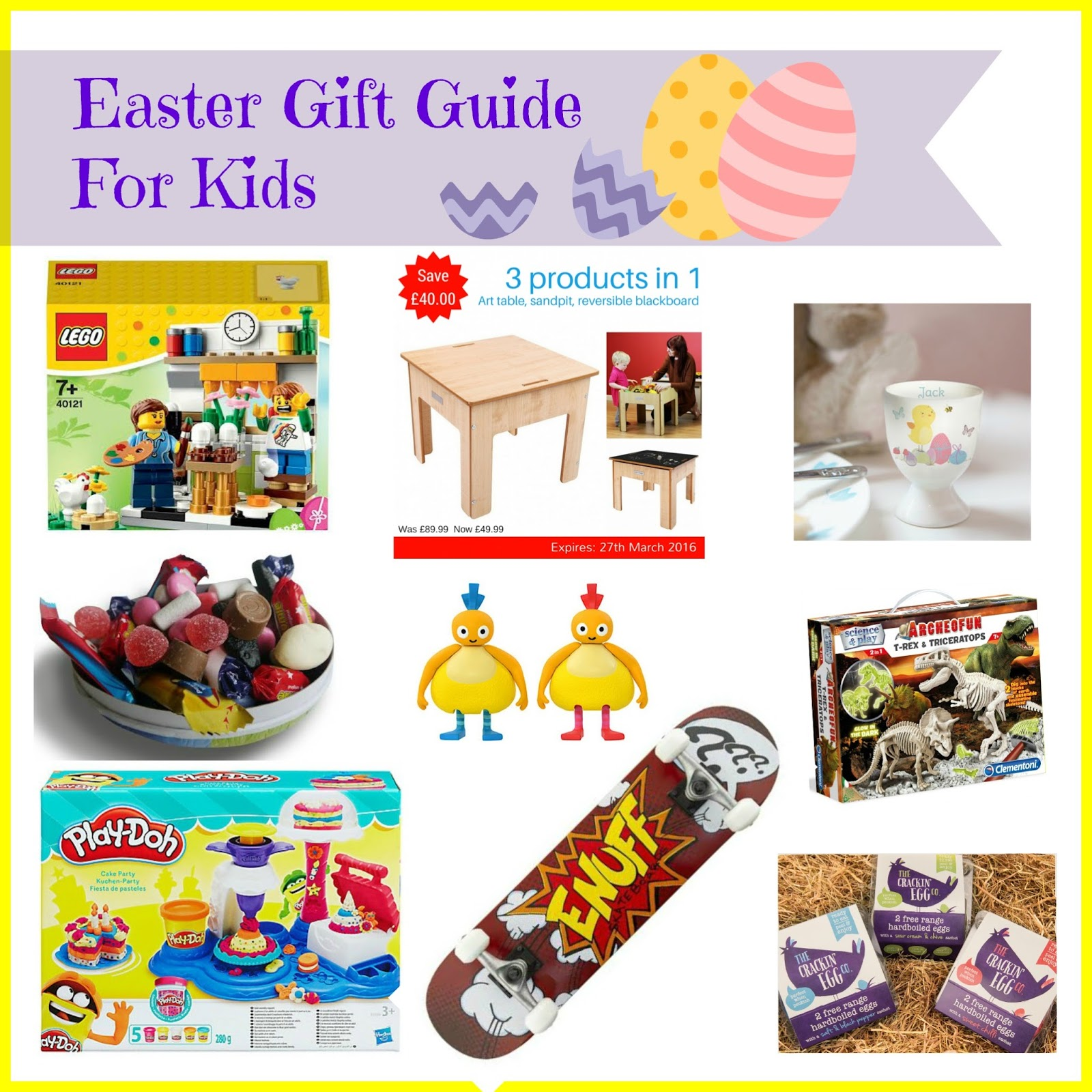 Entertaining elliot march 2016 easter gift guide for kids skateboard giveaway negle Image collections