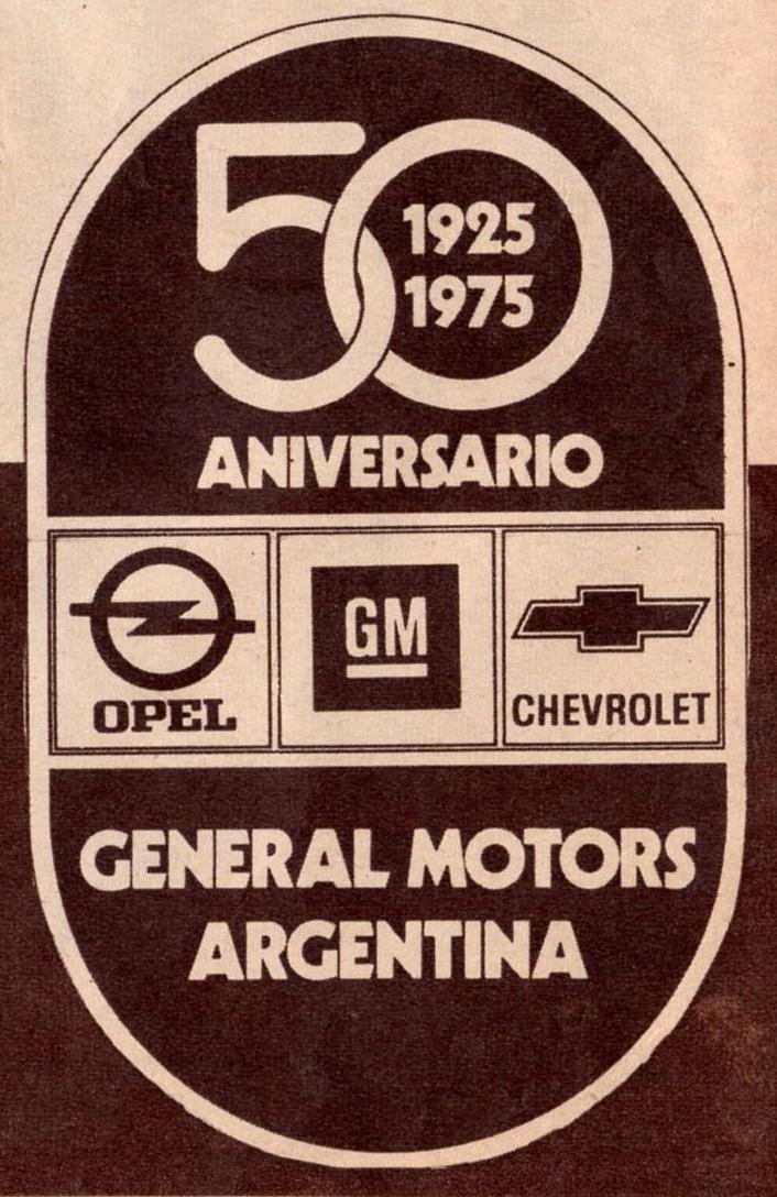 Archivo De Autos El Cincuentenario De General Motors