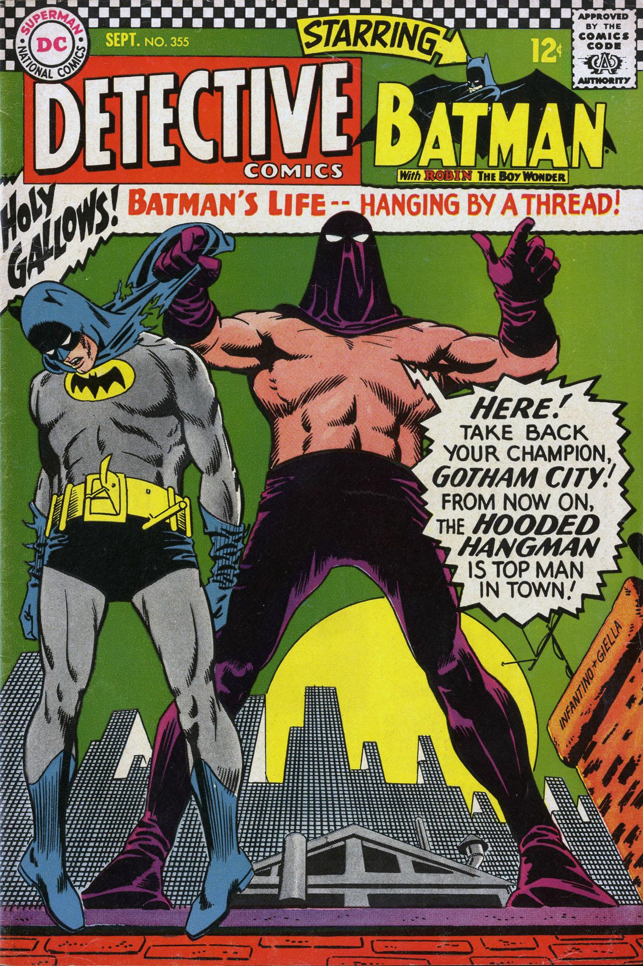 Detective Comics (1937) 355 Page 1