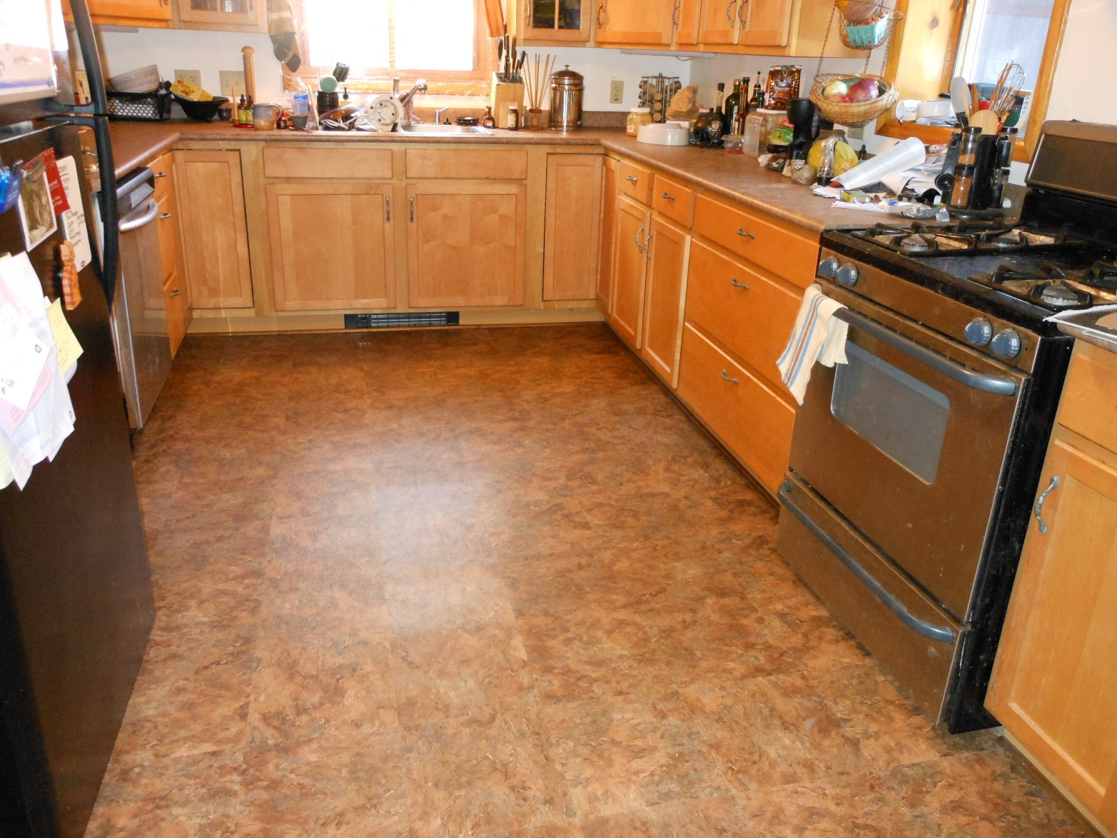 Tile Or Laminate Kitchen Floor
