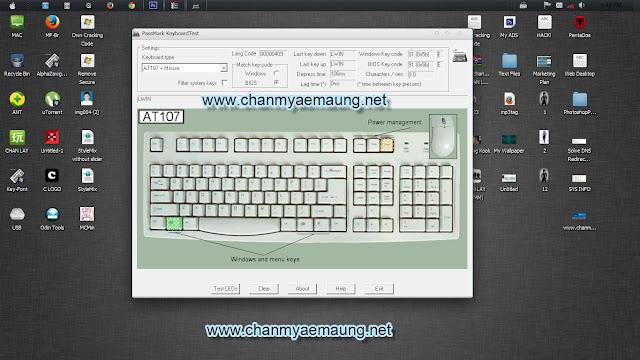 ✿ ကြန္ပ်ဴတာ Keyboard ေကာင္း၊ မေကာင္း စစ္ႏိုင္မယ့္ Software ✿