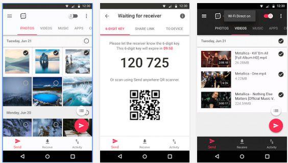 7 Aplikasi Transfer File Atau Pengirim File Tercepat Dan Terbaik Di Android