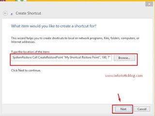 Creating-shortcut-on-windows-10-shortcut