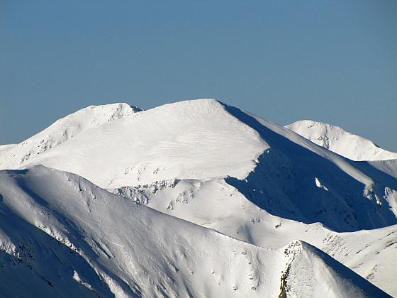 Starorobociański Wierch, dawniej nazywany Klin, Wysoki Wierch (słow. Klin, Vysoký vrch) – najwyższy szczyt w polskiej części Tatr Zachodnich (2176 m n.p.m.).