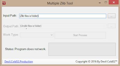 PES 2017 Multiple Zlib Tool by Devil Cold52™