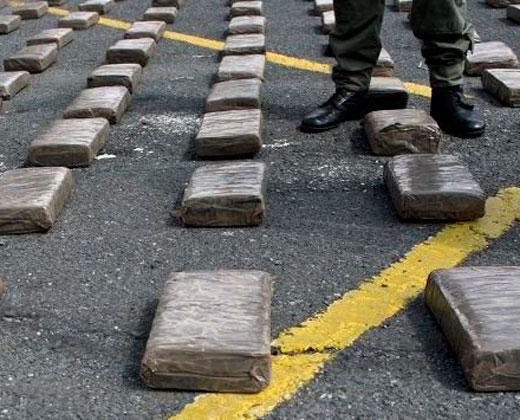 Decomisan en aeropuerto de México 600 kg de cocaína procedentes de Venezuela
