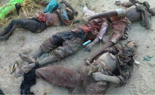 Photos: Nigerian Troops Ambush, Kill Five Boko Haram Terrorist