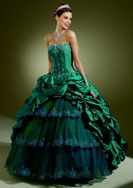 Teal Peacock Bridesmaid Dresses | www.imgkid.com - The ...