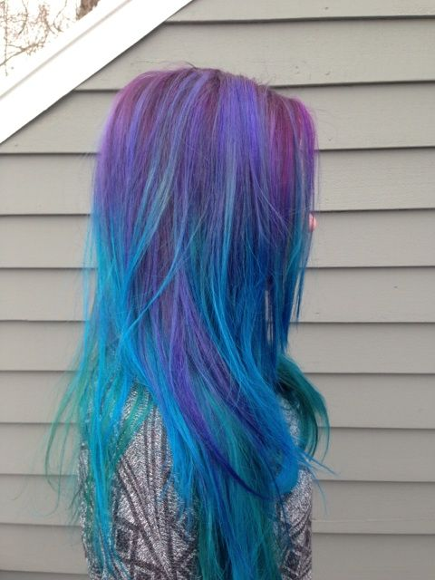 multicolored hair dont care images and video tutorials