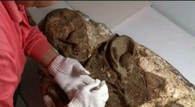 Μητέρα κρατά σφιχτά στην αγκαλιά το βρέφος της επί 4.800 χρόνια – Συγκλονισμένοι οι αρχαιολόγοι