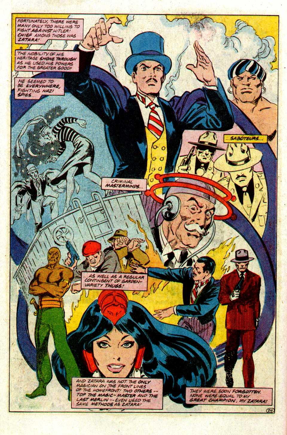 Read online Secret Origins (1986) comic -  Issue #27 - 25