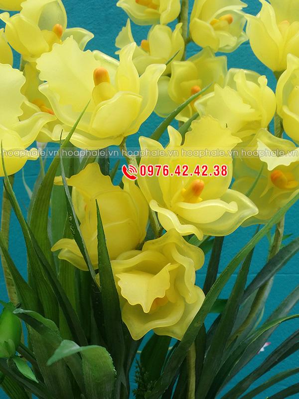 Nguyên liệu hoa pha lê hoa tulip