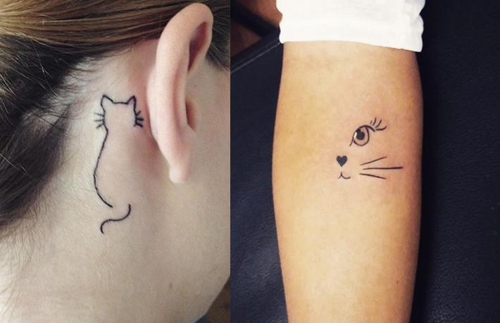 10 tatuagens para quem ama gatos